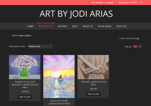 The Jodi Arias Art Gallery