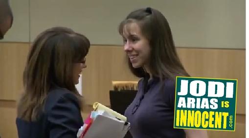 Jodi Arias & Jennifer Willmott - April 9th 2013