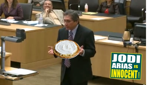 Juan Martinez cream pie moment -  - Jodi Arias is Innocent -com