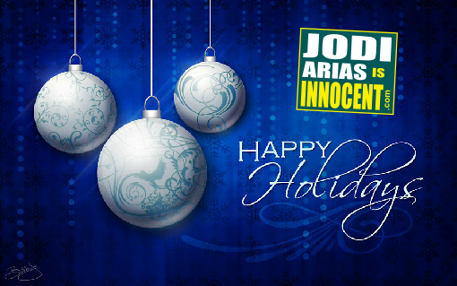 happy holidays - justice for jodi arias