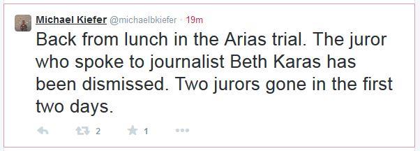 2 jodi arias sentencing retrial day 2