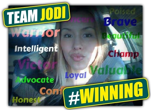 WE ARE TEAM JODI - #WINNING!