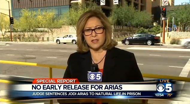 CBS5AZ jodi arias post sentencing 4-13-2015