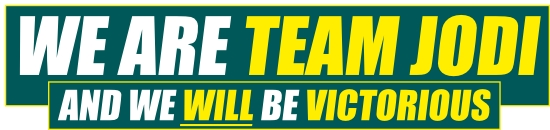 we are team jodi - and we will be victorious